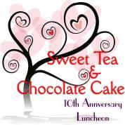 sweet tea chocolate cake logo