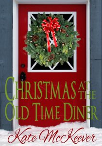 Christmas at the old time diner